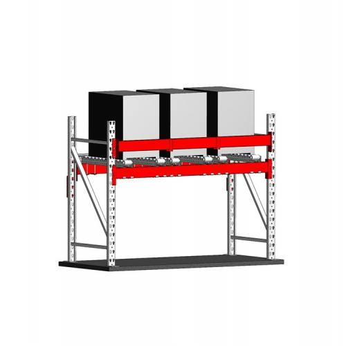 photo avantages Casier équipé de niveaux à rouleaux pour le stockage de moules (industrie)